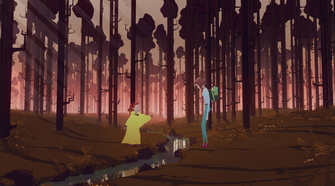 Stillbilde fra filmen om Huske