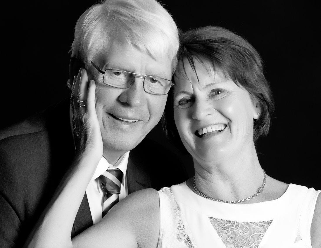 Bryllupsbilde Torbjørn og Else