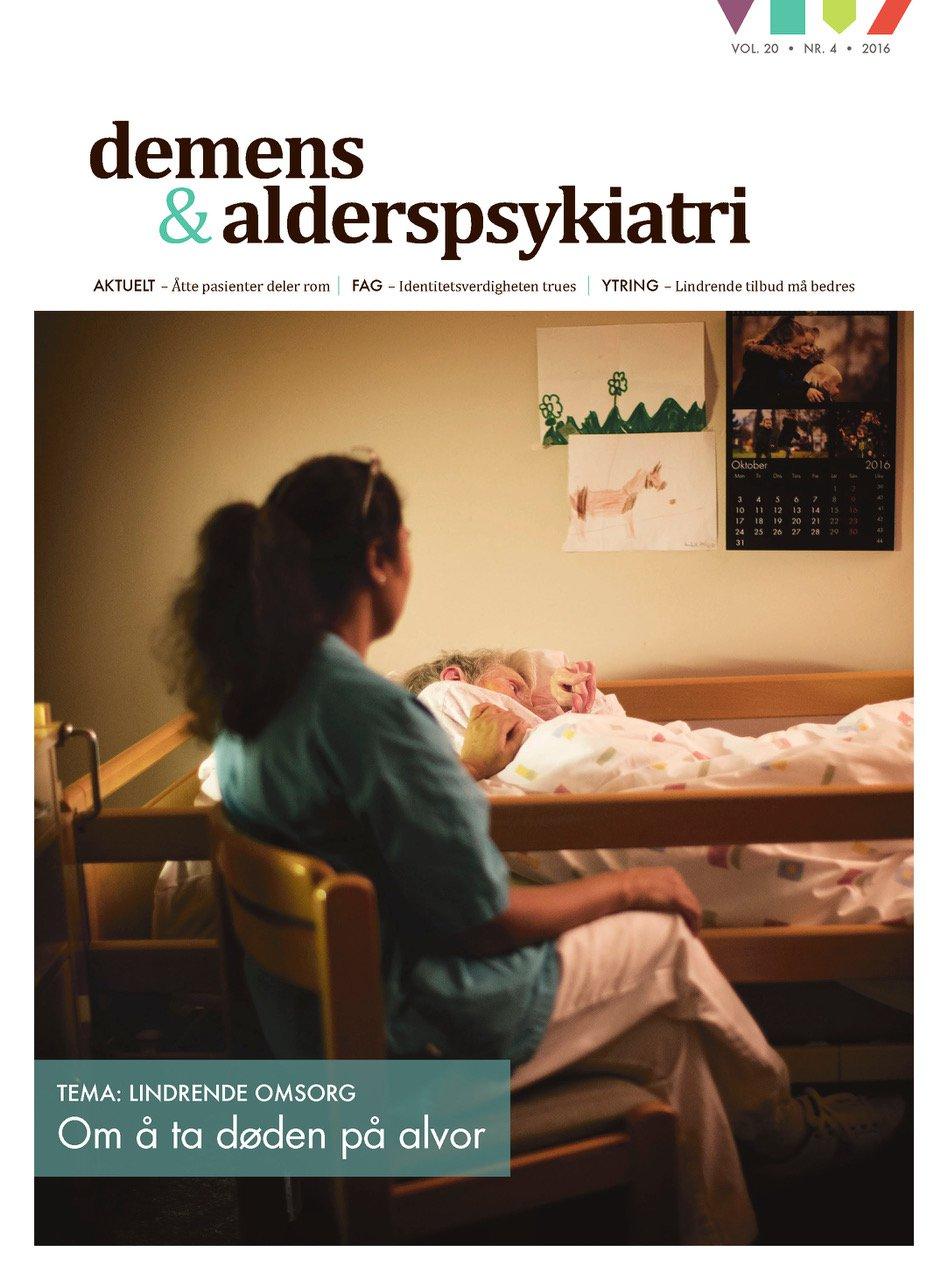 Forsiden av Demens & Alderspsykiatri 2016-4