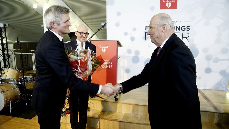 Geir Selbæk og kong Harald