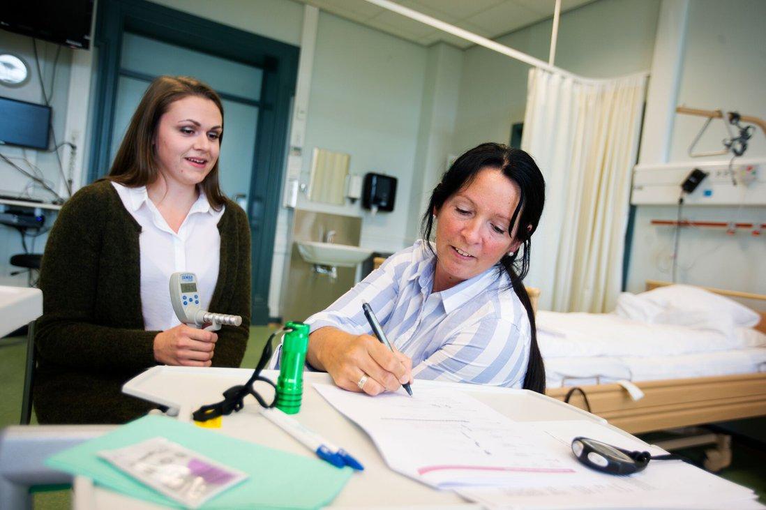 Sykepleierstudenter sertifiseres HUNT4 70+