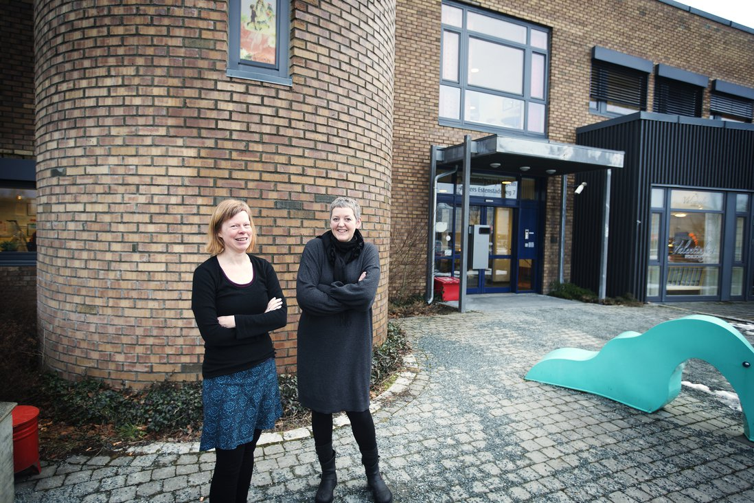Anne Helga Henning og Bodil Pedersen
