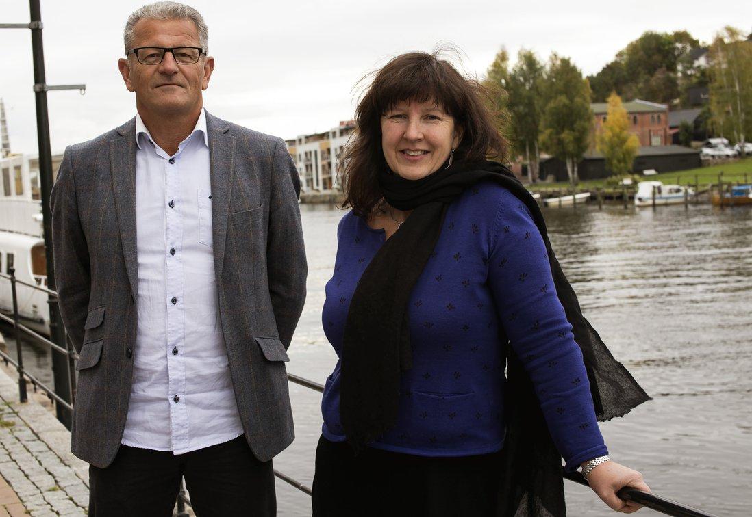 Kjersti Langli-Jørgensen og Svein Buvik