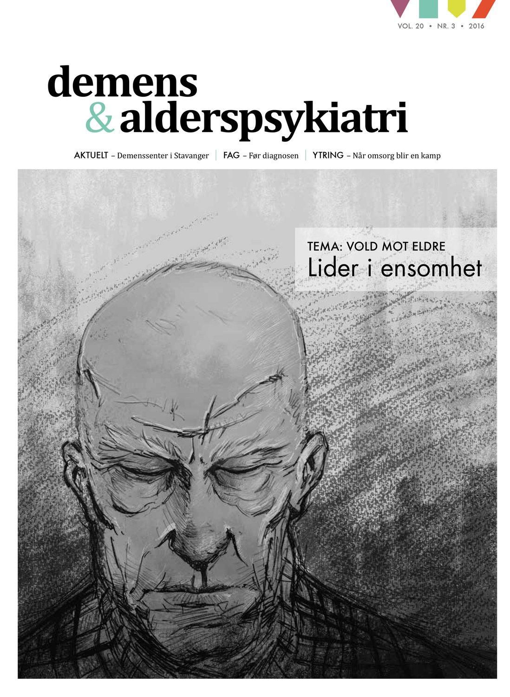 Forsiden av Demens & Alderspsykiatri 2016-3