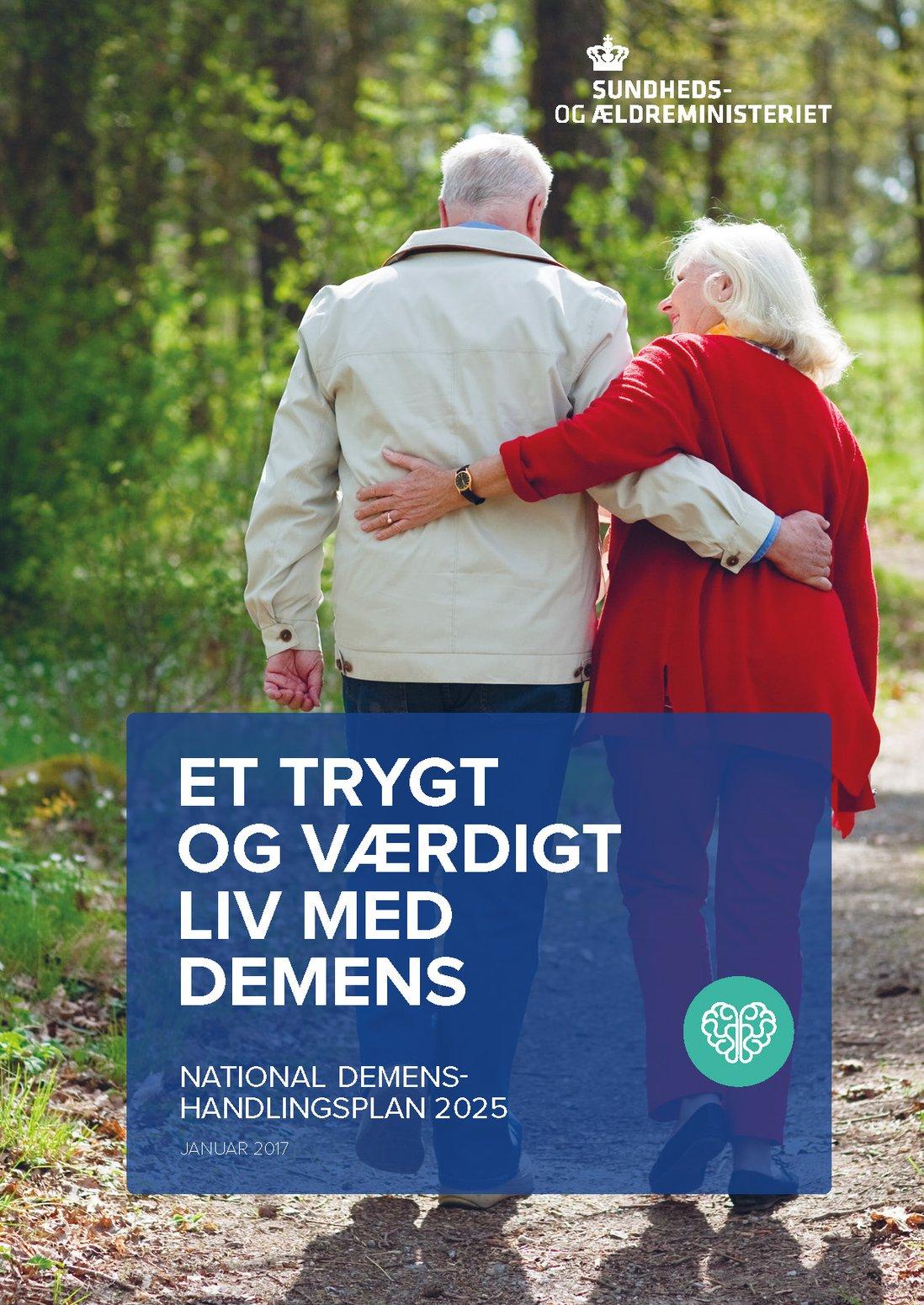 Forsiden av Et trygt og værdigt liv med demens