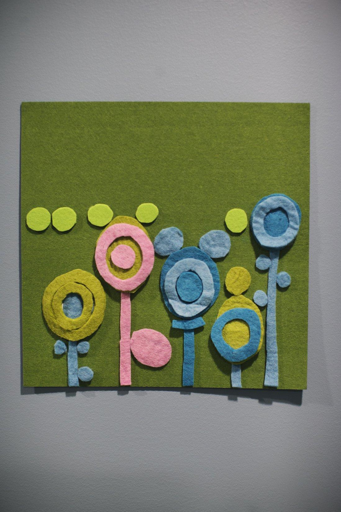 Kunstverk på vegg