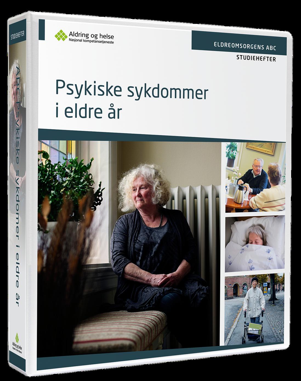 Bilde av Eldreomsorgens ABC - psykiske sykdommer i eldre år