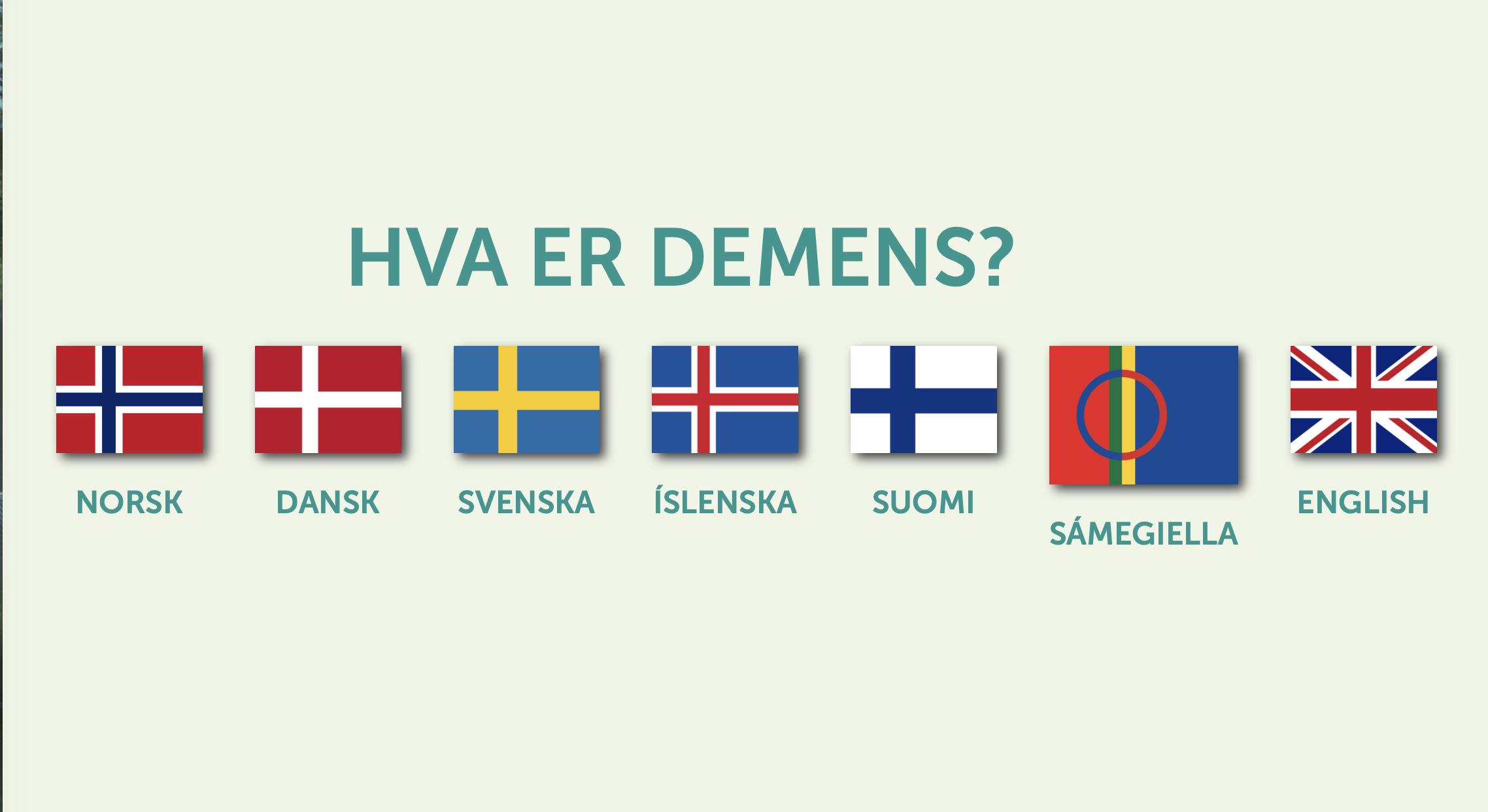 Nytt nordisk nettsted om demens