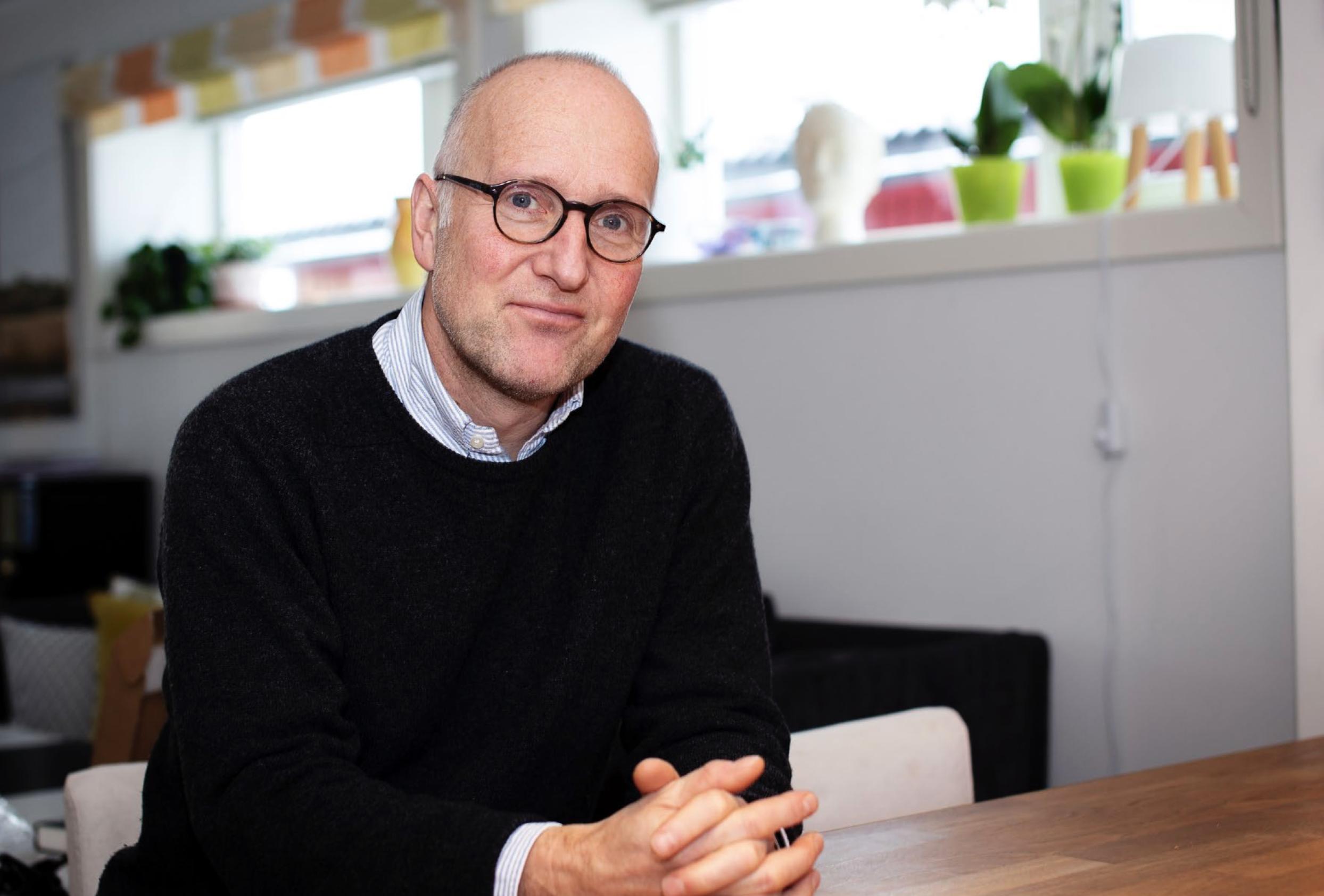 Jørgen Bramnes. Foto: Bente Wallander, Aldring og helse