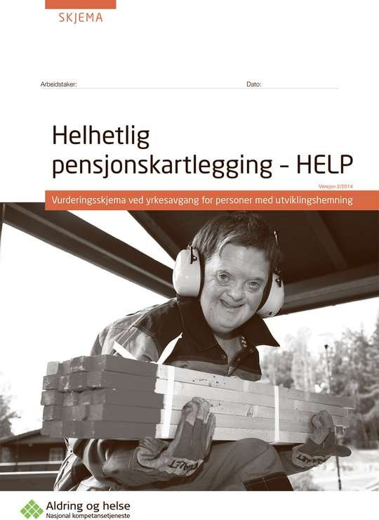 Foto av forsiden til HELP-kartlegging