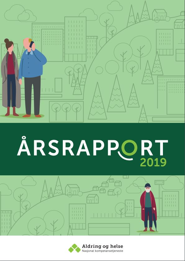 Forsiden av årsrapport 2019