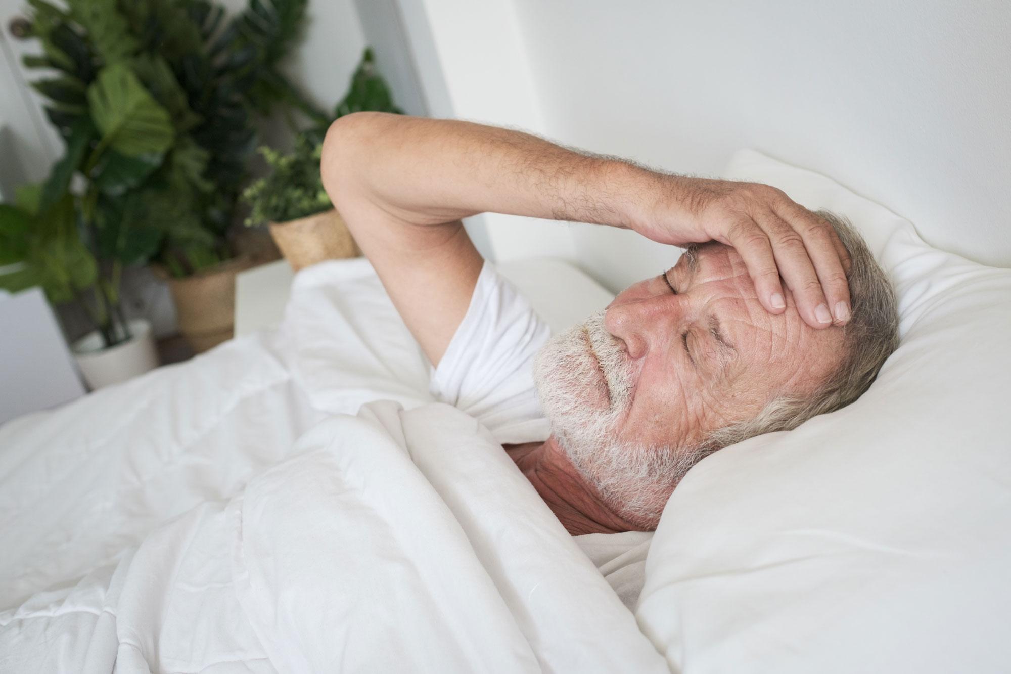 Ill.foto søvnproblemer