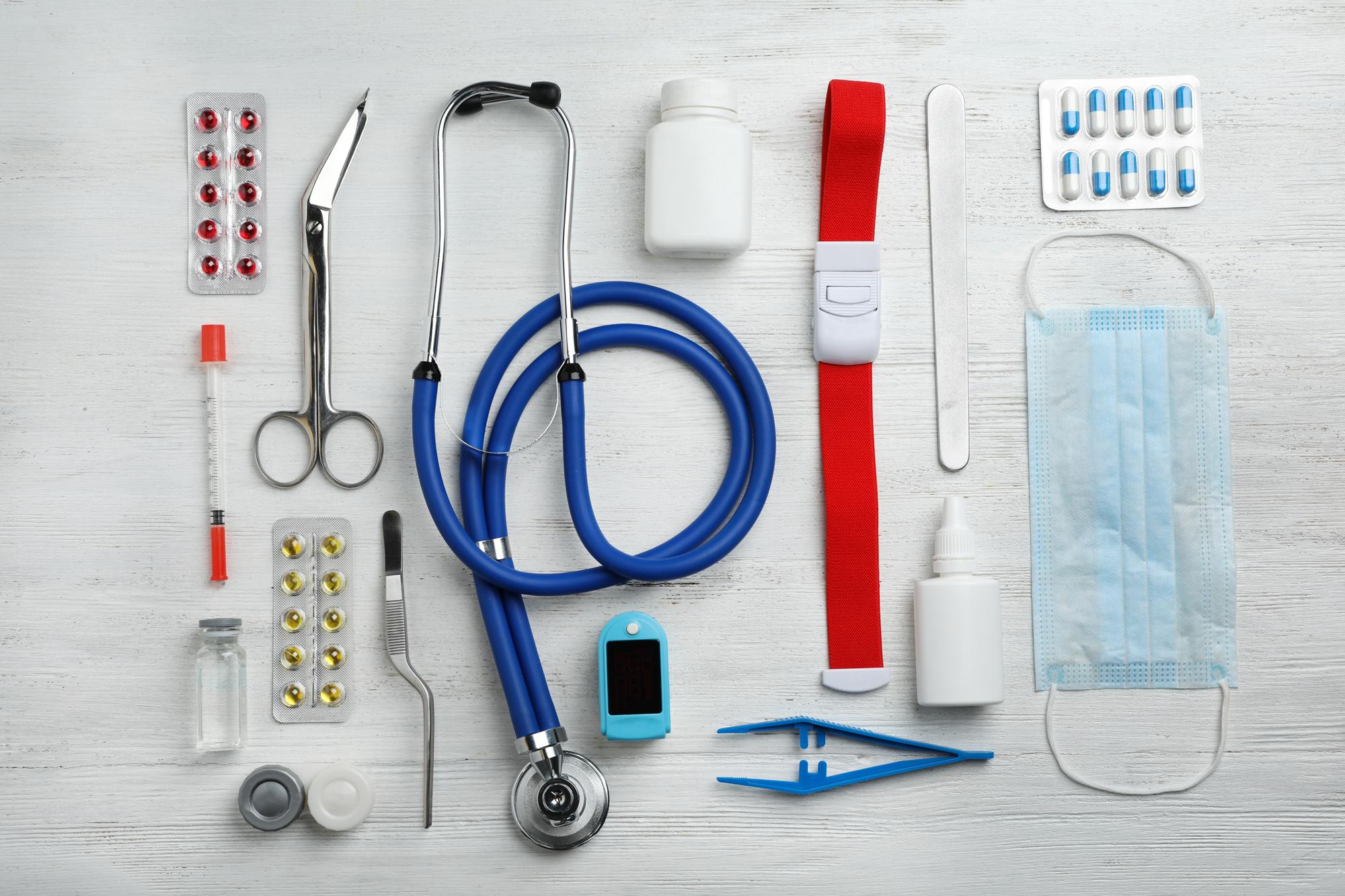 Medisinsk utstyr. Foto