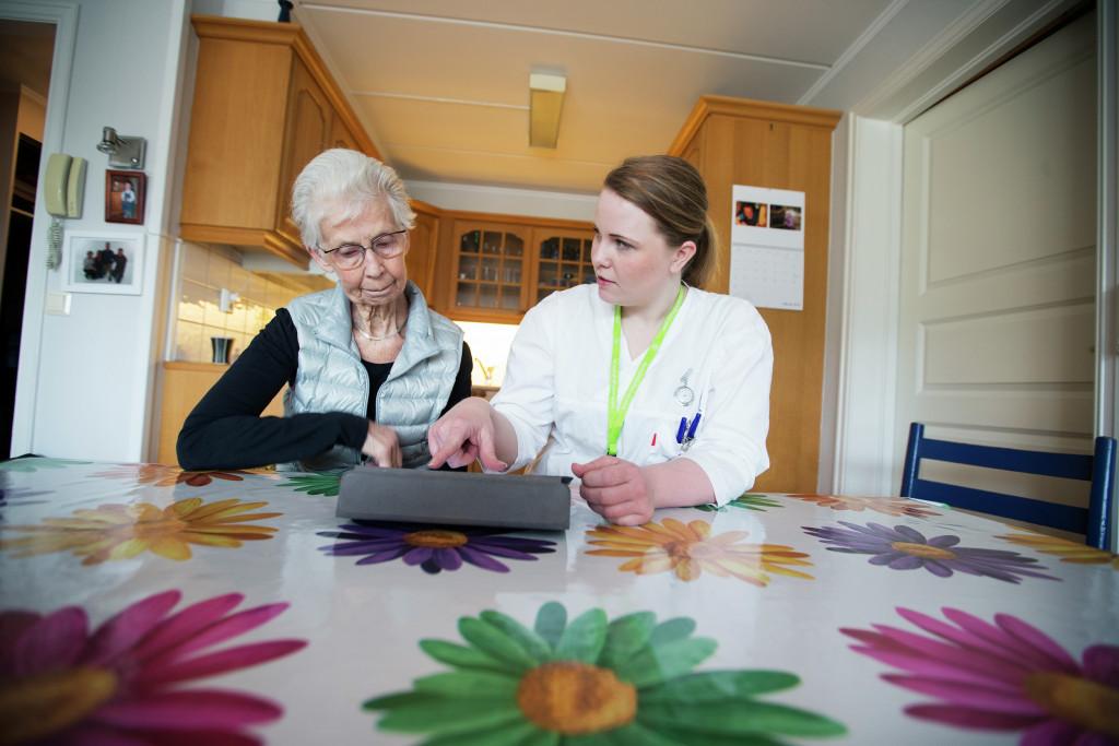 Ill.foto: Tjenester til personer med demens som bor i eget hjem