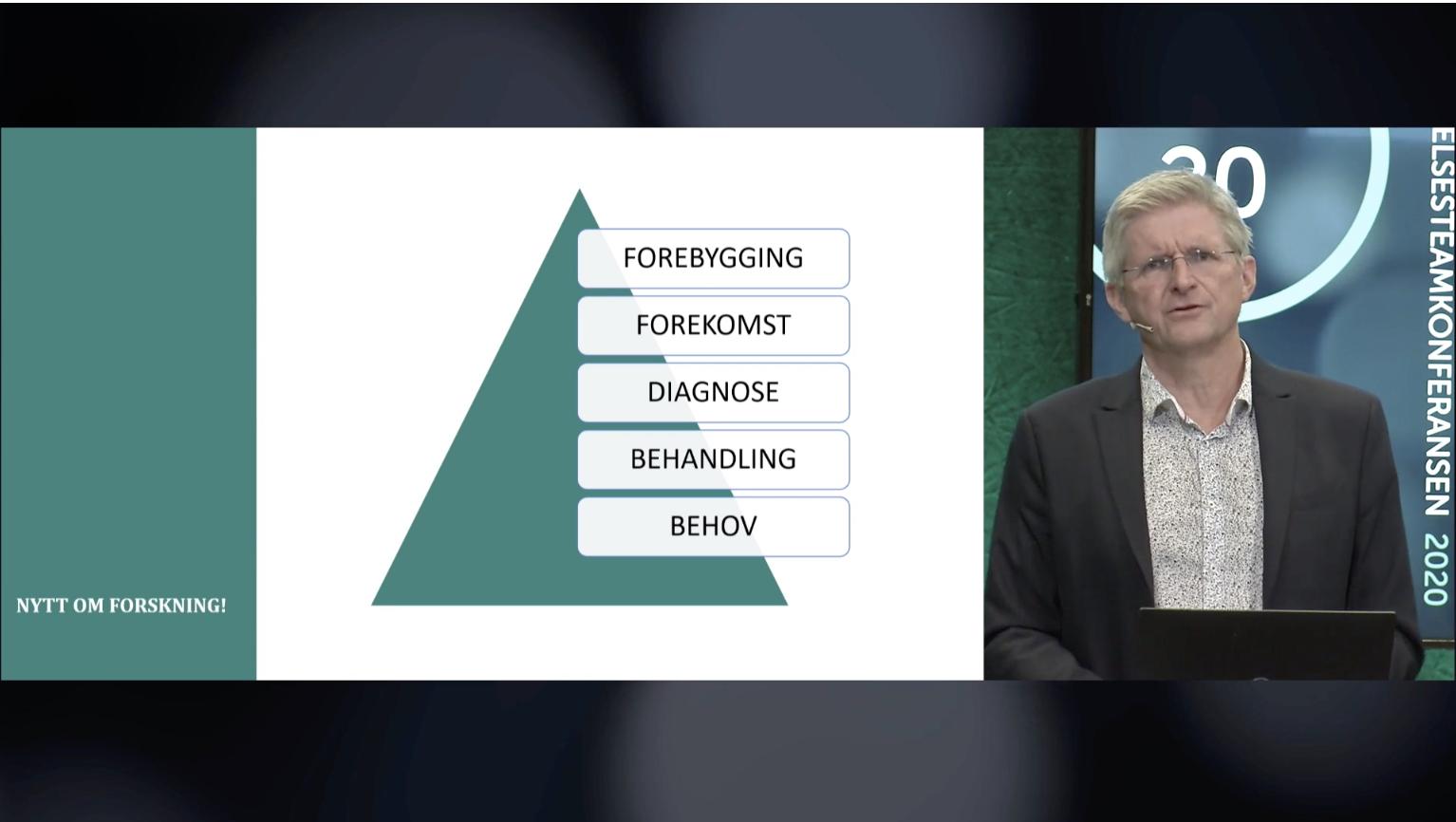Skjermbilde av Psyk-IT-foredraget Demens - Nytt om forskning