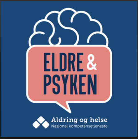 Logo til podkasten Eldre & Psyken