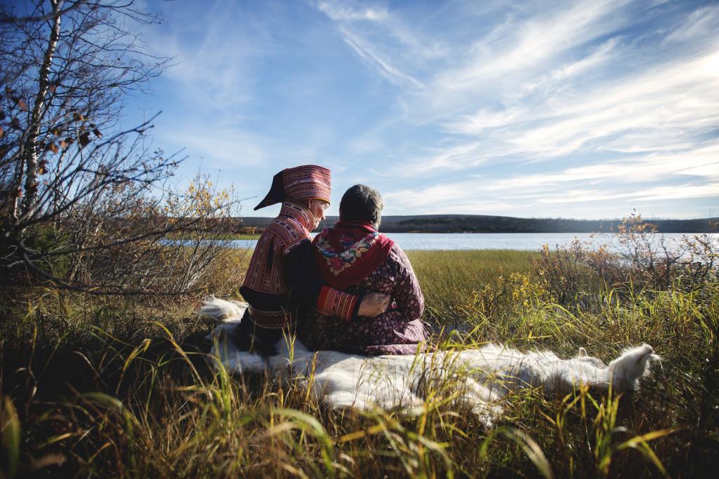 Bildet illustrerer temaet Urfolk og demens. Foto: Martin Lundsvoll
